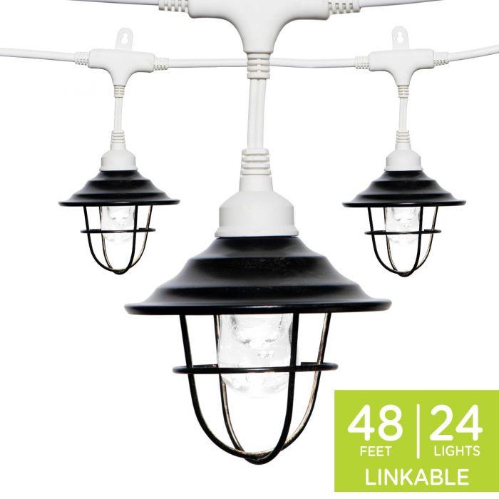 Enbrighten Light Bundle Classic Led Cafe Lights 24