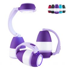 Enbrighten 3-in-1 Lantern, Purple