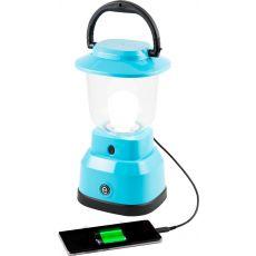 Enbrighten LED 6D USB-Charging Lantern, Teal