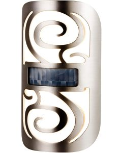 Enbrighten LED Motion-Select Night Light, Brushed Nickel