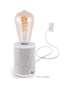 Enbrighten Anywhere Lamp, Gray