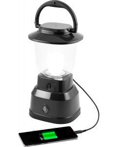 Enbrighten LED 6D USB Charging Lantern, Black