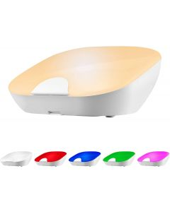 Enbrighten Tabletop Dimmable Color-Changing LED SleepLite, White